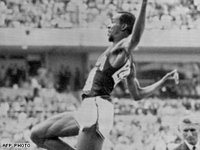 Beamon's 1968 long jump world record held until 1991.