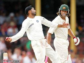 The row between India's Harbhajan Singh (left) and Australia's Andrew Symonds has turned the spotlight on &quot;sledging&quot; in cricket.