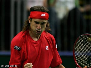 Top seed Ferrer has lost his two previous meetings with Gicquel.