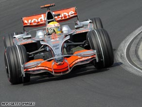 McLaren star Lewis Hamilton will be seeking to win for the second year in a row in Budapest.