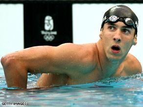 Phelps is now just one victory away from holding the record for the most gold medals in Olympic history.