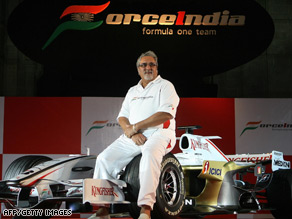 Vijay Mallya's Force India team carries the hopes of a nation, but it has struggled to make an impression so far.