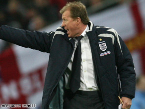 Failure to guide England to the finals of Euro 2008  cost McClaren his job as national coach.