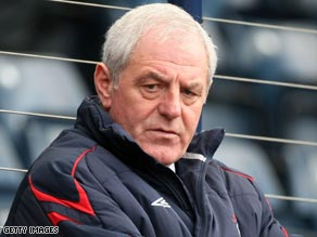 Rangers manager Walter Smith will come under huge pressure after his side's shock Champions League exit.