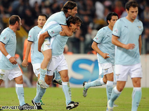 The Lazio team