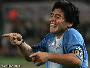Maradona will get the chance to test his coaching credentials at the highest level.