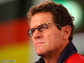 England boss Fabio Capello has taken a hit on his salary as the pound falls against the euro.