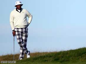 Samuel L.Jackson at the Alfred Dunhill Links Championship