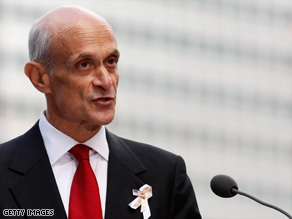 Homeland Security Secretary Michael Chertoff wants better protection for government computer systems.