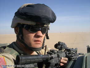 Buzzell now lives in San Francisco. His Iraq blog led to a book deal and a career as a freelance writer.