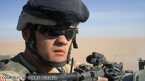 Soldier finds his voice blogging from Iraq