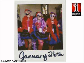 Tacey Willis' &quot;Day By Day Polaroid&quot; project contains 365 photos, movies, songs and quotes.