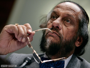 Rajendra Pachauri has warned that more action is needed to combat climate change