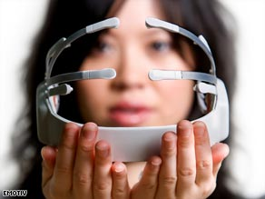 Detecting your thoughts: the EPOC headset is a breakthrough in brain - computer interfaces.