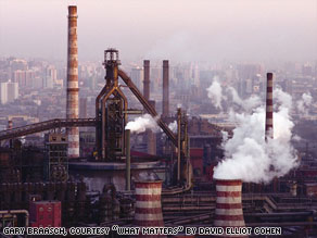 Capitol Steel is a major polluter of the Beijing area and a heavy coal user.