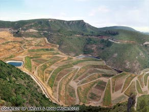 Spanish architects Batlle and Roig have returned a 150 hectare rubbish dump back to nature.