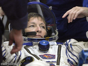 NASA astronaut Peggy Whitson endured a chaotic Soyuz capsule landing in April.