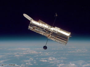 The Hubble Space Telescope's on-board computer went down September 27, interrupting its work.