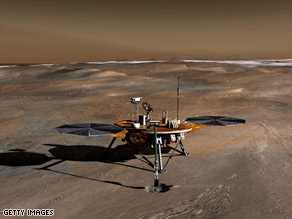 NASA officials say the rapid onset of the Martian winter means the Phoenix Lander's days are numbered.