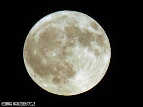 NASA says the moon will appear up to 14 percent larger and 30 percent brighter.