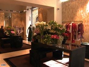 Roberto Cavalli's Florence store