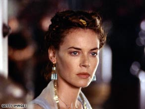 "Connie Nielsen shot to fame playing Lucilla in ""Gladiator."""