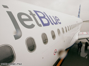 A JetBlue plane was held in North Carolina for two hours while passengers were interviewed.