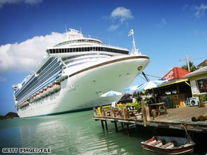 Cruise lines with advanced wastewater treatment technology treat water so it's safe to discharge at sea.