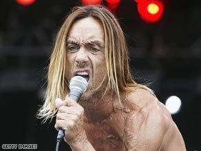 Iggy Pop: The wildest man in rock music.
