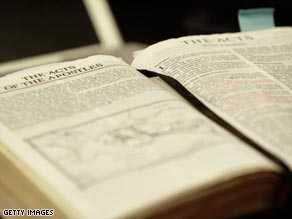 A Bible has become the stape in hotel rooms worlwide