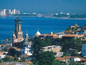 The Pacific-coast resort of Puerto Vallarta has attracted artists in recent years with its natural beauty and well-preserved colonial architecture.