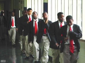 Urban Prep students