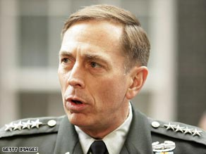 The Senate votes 95-2 to confirm Gen. David Petraeus in his new position.