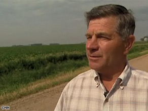 Farmer Dale Harkness wants future generations to enjoy the  land in Elk Point, South Dakota, as it is now.