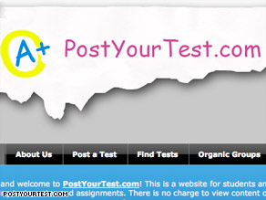 PostYourTest.com creator Demir Oral says the site is a tool for education, not for cheating.