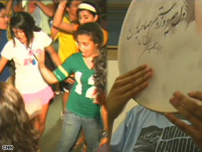 Iranian games and dancing sessions are scheduled next to college prep workshops.
