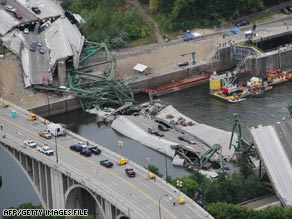 The report was released days before the first anniversary of the I-35W bridge collapse in Minneapolis, Minnesota.