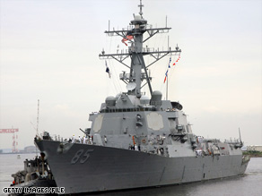 Arleigh Burke destroyers like the USS McCampbell have better missile defense capabilities, a top admiral says.