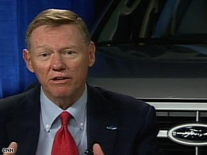 Ford ceo on bailout opposition past is past for Ford motor company alan mulally