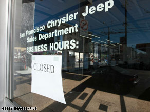 A dealership in San Francisco, California, hopes to lure holiday buyers with a sale.