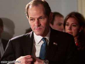 Former New York Gov. Eliot Spitzer wrote an online column criticizing the recent U.S. bailouts.