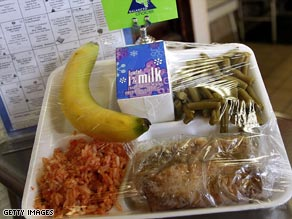 About 425,000 more students are participating in the National School Lunch Program, a group reports.