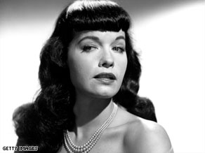 Pinup queen Bettie Page was credited with helping to usher in the sexual revolution.