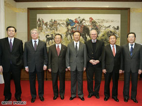 The latest round of six-nation talks in Beijing reached a stalemate, chief U.S. negotiator Christopher Hill said.