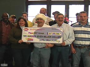 After five years of buying Mega Millions Lottery tickets, a group of 15 people in Ohio finally hit the jackpot.