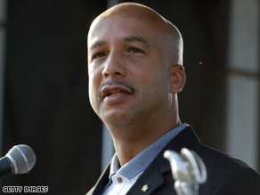 New Orleans Mayor Ray Nagin attends a ceremony Friday honoring Hurricane Katrina victims.