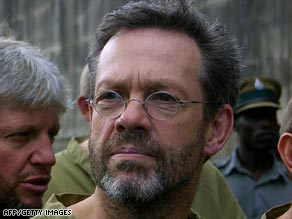 Simon Mann was arrested after a plane carrying him and about 60 mercenaries landed in Zimbabwe.