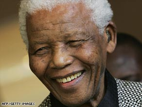 "Mandela: ""In my country we go to prison first and then become President."""