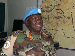 U.N. peacekeeper force commander General Martin Luther Agwai