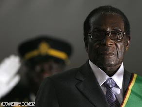 Robert Mugabe won re-election as Zimbabwean president in a controversial and disputed election.